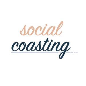 Logo Stacked - Social Coasting