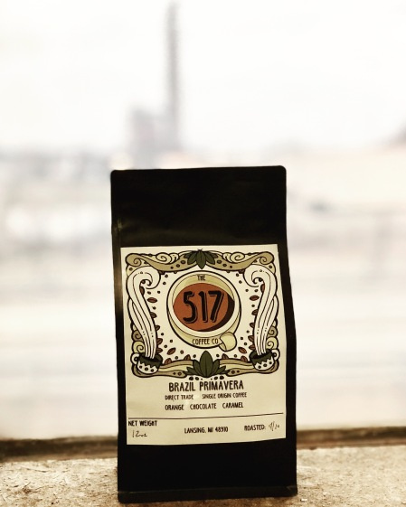 The 517 Coffee Co Logo